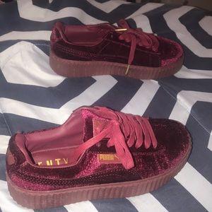 62dcb55eab3 Rihanna puma fenty velvet shoes